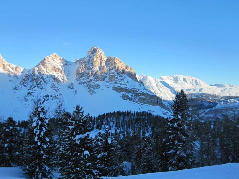 Refugio Fanes, Skitouren im Herzen der Dolomiten (Januar 2014)