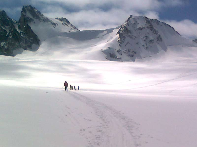 Klassische Haute Route von Chamonic nach Zermatt (April 2014)